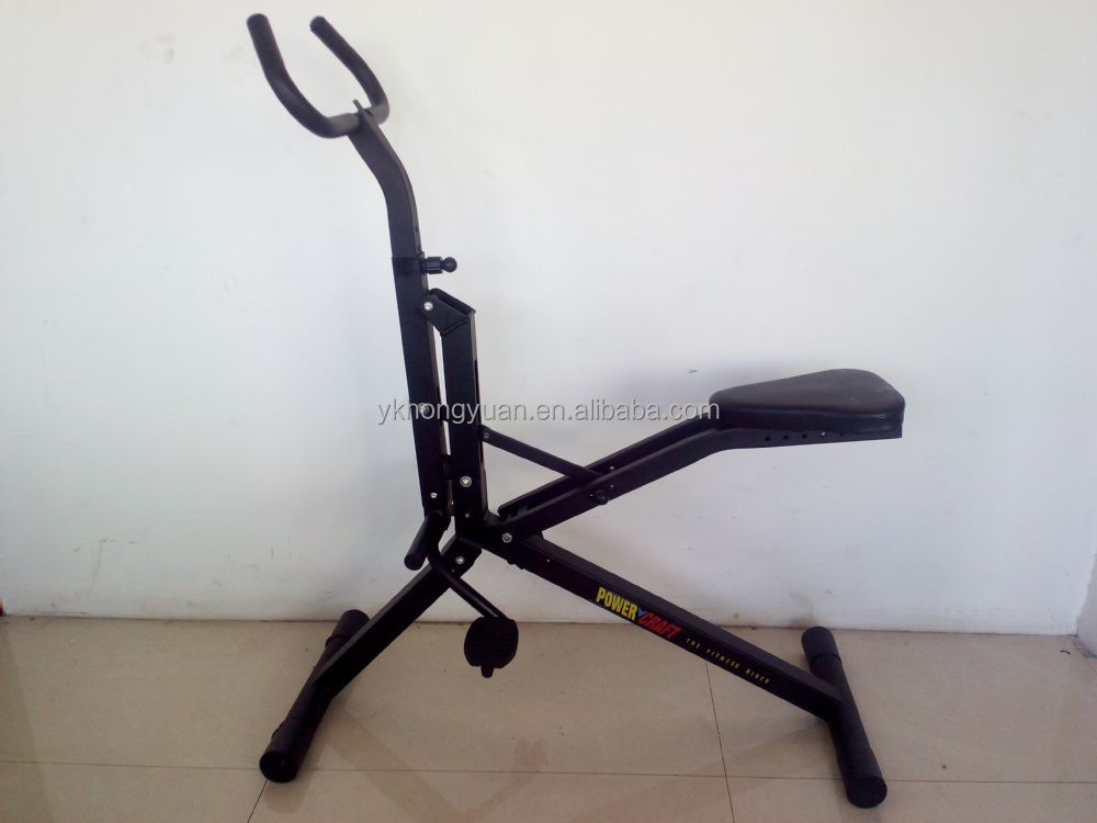 2015 new product exercise bike power horse rider