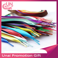 "13 COLORS 1"" SATIN RIBBON GENUINE REPLACEMENT SHOELACES BOOTLACES For DR MARTEN"