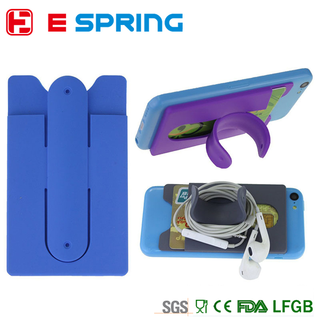 Dual-purpose silicone 3M mobile case and stand