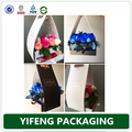 Fashionable Elegant Wholesale Cheap Custom Handmade Fresh Flower Paper Packaging Box With Ribbon Handle