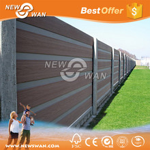 Wood Plastic Composite / WPC Fence Panels