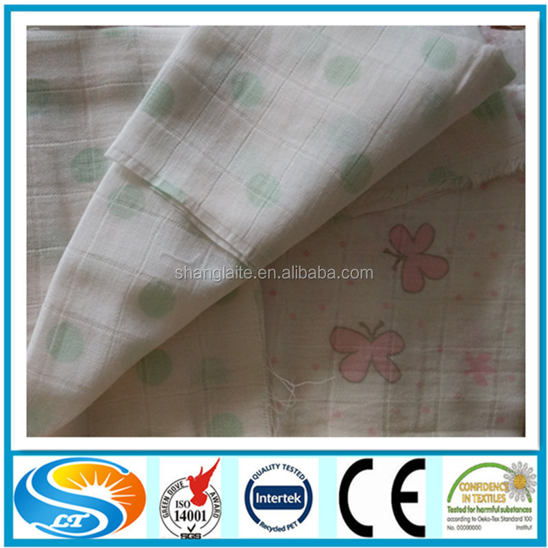 printed pul diaper fabric