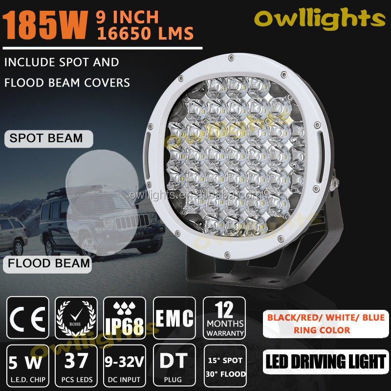 "car parts accessory Hot New Products autoparts 2015 12 volt led light 9"" 96w LED Driving Light for automobiles motorcycles"