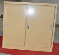 Large storage cabinet hair color cabinet 2 doors cupboard