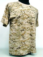 Wholesale Short-sleeved T-shirt TC 65/35 military CP camo T-shirts O-neck T-shirts