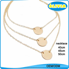 Olivia China Wholesale Meaningful Pendant Necklace,Women Personalized Jewellery Necklaces 22k Gold Jewellery Dubai
