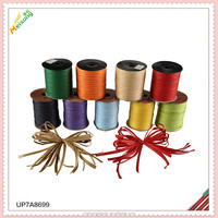 gift package paper raffia ribbon tied bow and bundle for pack in opp bag
