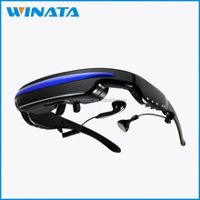 52inch virtual display lcd virtual glass 3D Video Glasses simulated display for iPhone