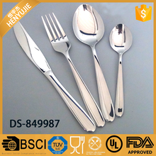 Modern luxury Stainless steel used China dinnerware DS-849987