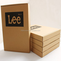 Recyclable Corrugated Cardboard Foldable Shipping Box