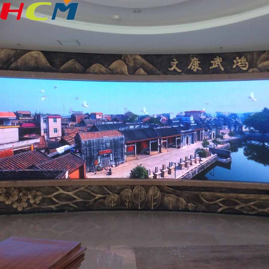 Factory wholesale price p8 P10 wall mounted large led advertising display panel
