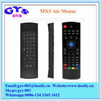 Newest MX3 Air Mouse 2.4GHz Remote Control Wireless Keyboard Wireless Mouse with USB Receiver