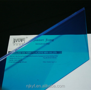 outdoor blue colored plastic film for laminated glass