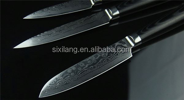 China Gold Supplier manufacturers in china Stainless Steel damascus knife blade blank