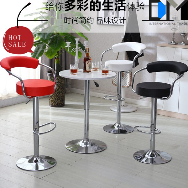 Cup design and bar stool high swivel chair wholesale