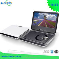 TFT (7'') portable dvd/cd mp4/wma digital player dvb-t tv tuner usb/sd/ms/mmc card reader