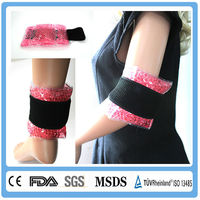 Soft gel wrist ice pack