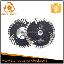 Smooth sharp cutting diamond cuts saw blade for granite stone