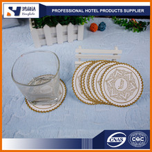 Factory wholesale cheap custom printed disposable paper beer coaster