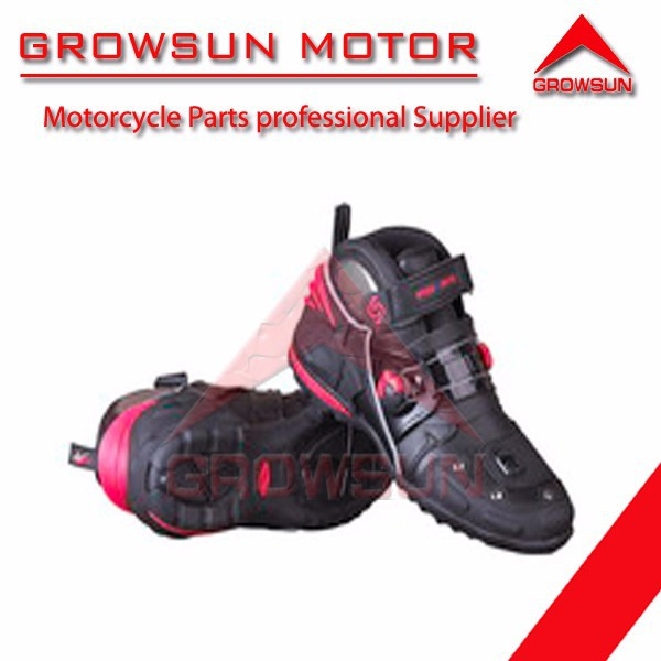 Motorcycle Accessories Road Match Short Boots A9002
