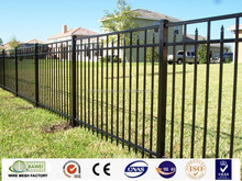 Cheap used metal fence panels solid white wrought iron ornaments fencing for sale