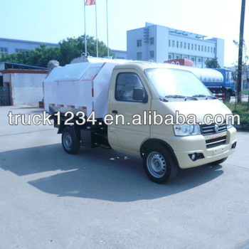 DFAC mini Hydraulic Arm Garbage Truck