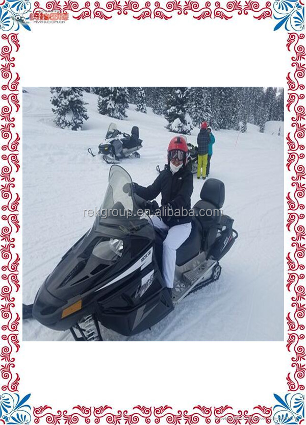 Serviceable cheap price 2016 new 200cc kid snowmobile/snowscooter for sale with CE approved