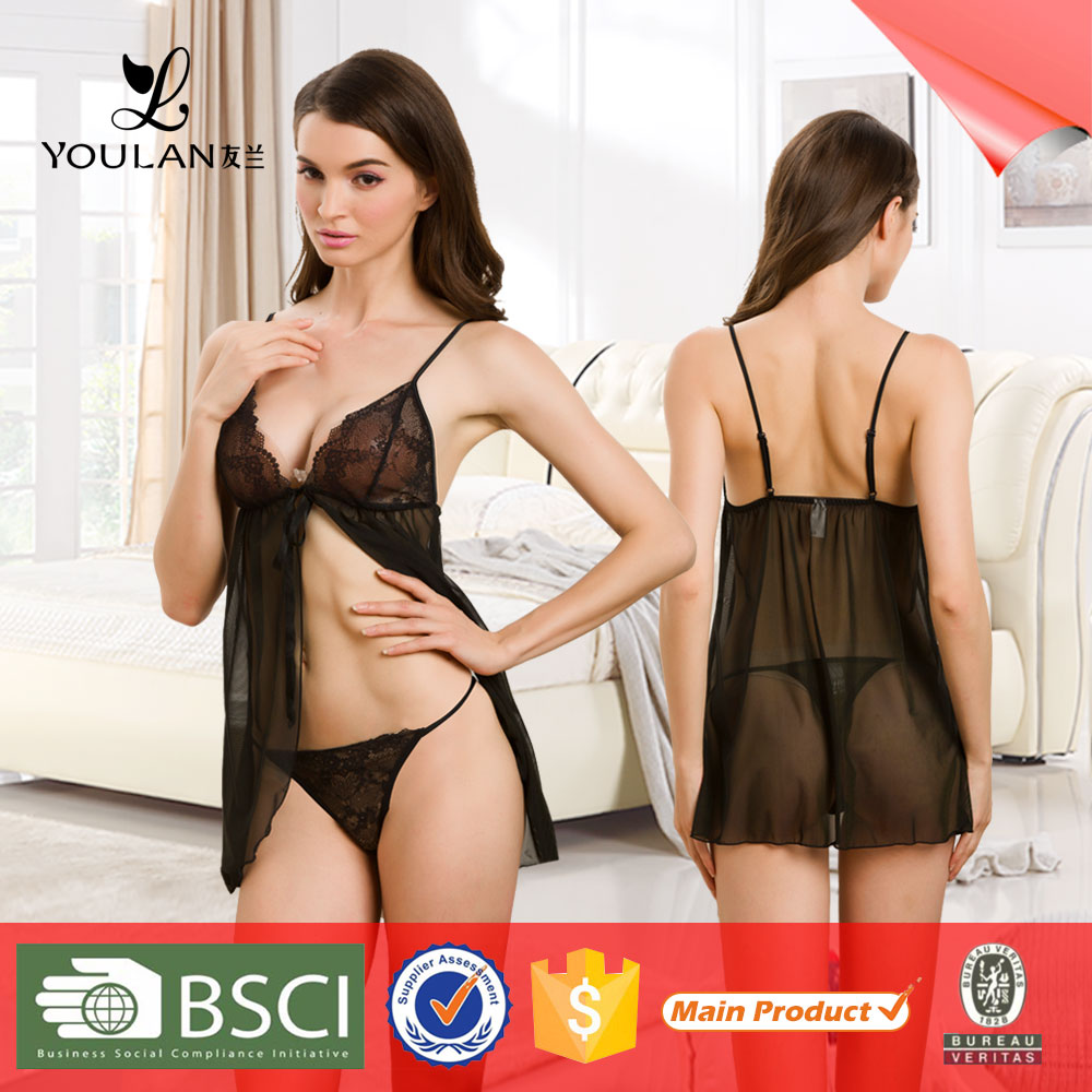 Top Quality Popular Fashion Transparent Sexy Lingerie Hot