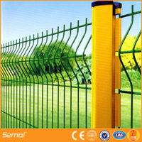high quality cheap security iron wire mesh fence panels