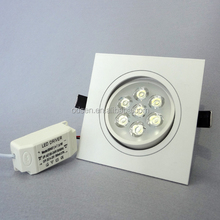 7W Led downlight Square