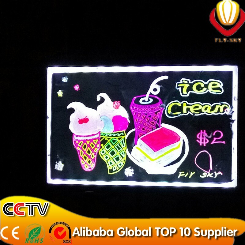 alibaba best selling 40*60cm kids led writing boards with CE&ROHs