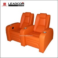 Leadcom luxury leather cinema vip manual recliner (LS-811)