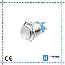 Waterproof self-locking Metal Push Button Switch