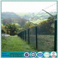 Weave Vinyl Coated Stainless Steel Chain Link Fence Fabric