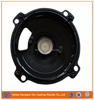 High Pressure Aluminum Die Casting Cover with Black Powder Coating