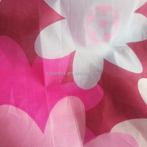 100 polyester pongee lining fabric for mattress