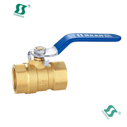 "3/8"""" ball valve with small handle china manufacturers brass mini valvula de gas"