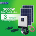 2000W off grid on grid PV power system BPS-2000M 2KVA solar power system BestSun