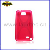 X Line TPU Case Cover for Samsung Galaxy Note 2 N7100,Gel Case,More Colors Available,Laudtec