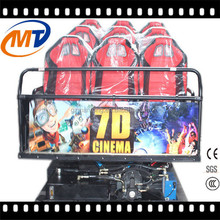 Entertainment Unit 7D Cinema Simulator Motion 7D Cinema For Sale