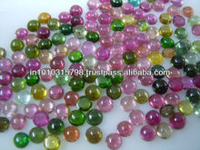 AAA High Multi Color Tourmaline Gemstone Cabochon Wholesale Price