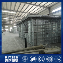 Kitsen Strength Tested Modular Concrete Forming / Modular Aluminum Concrete Housing Forms
