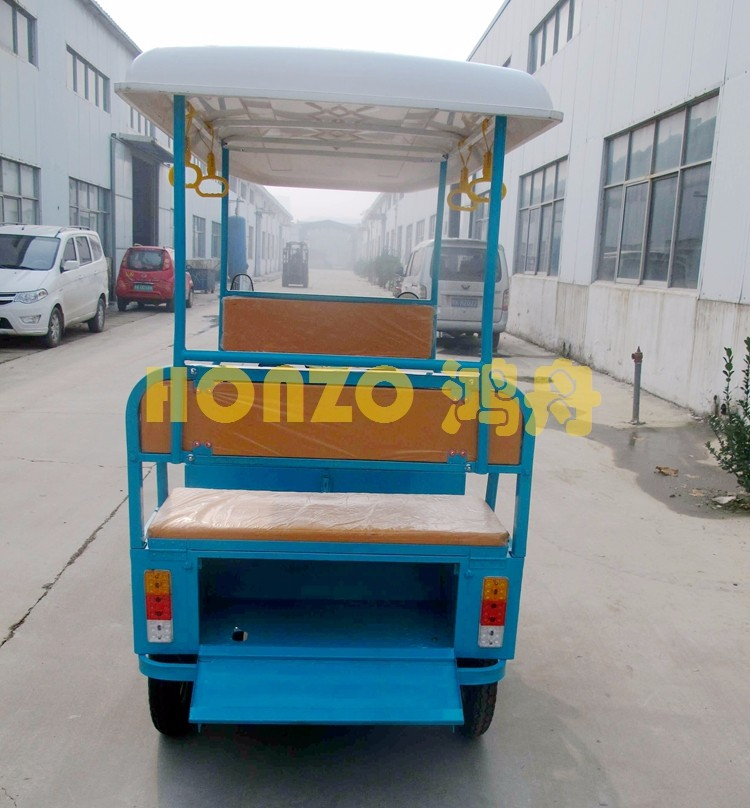 India market passenger 60V electric tricycle for 850w motor power
