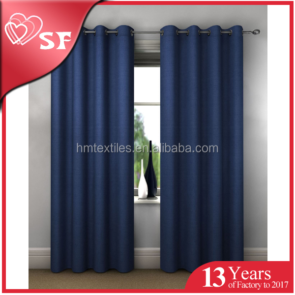 Ready made curtain supplier Fashion luxury blackout curtain living room window curtains design