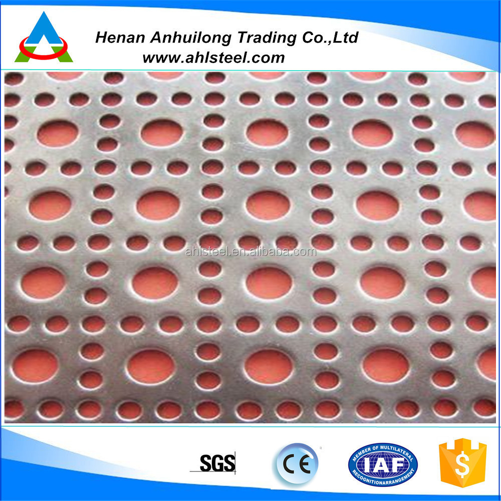 perforated sheet price m2/decorative perforated sheet metal panels
