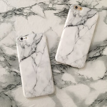 High Quality Custom IMD soft TPU Marble Mobile Phone cover case for iPhone 6/6s