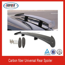 E F I J 3D CF CARBON FIBER UNIVERSAL RACING GT STYLE TRUNK SPOILER WING ADJUSTABLE TAIL