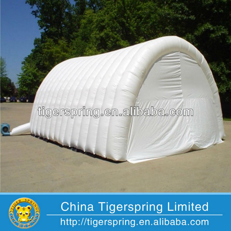 customized inflatable car parking tent air blow tunnel tent