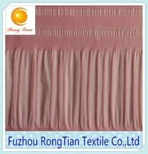New fabric pink nylon spandex bubble stripe elastane fabric for kids dress