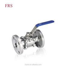 Large Water Oil Base Gas Flanged Ball Valve